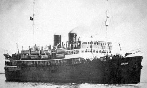 История советского «Титаника», затопленного немцами в 1941 году