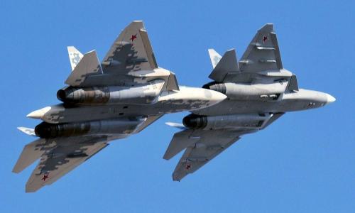 В США назвали российский Су-57 «красивым убийцей»